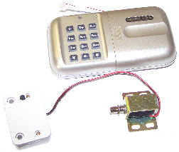 Crown Electronic Lock KP-001