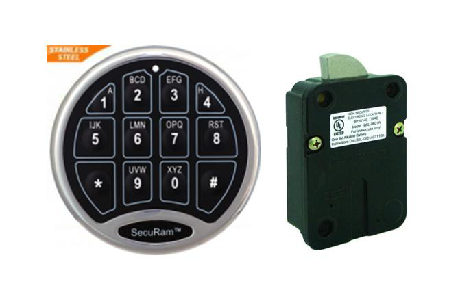 SecuRAM Safe Lock System SafeLogic Basic / SafeLogic BackLit