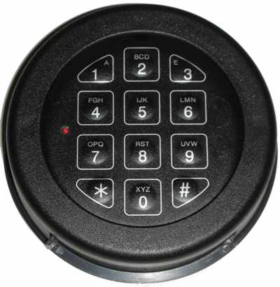 Base Line Key Pad Textured Black KBL-10-TB